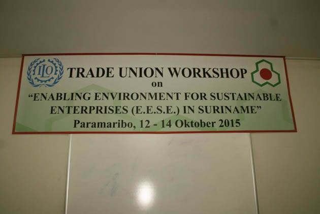 ILO - RAVAKSUR 3-daagse Workshop (12.10.2015)